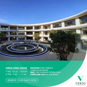 VERSO Open House​ (Sat. 1 Feb 2020)