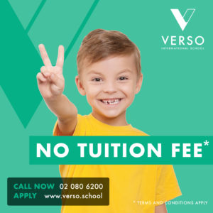 VERSO Announces Tuition Fee Waiver